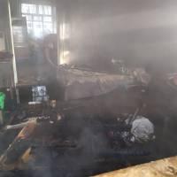 Загорання житлового будинку в м. Яготин