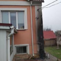 Повідомлення про загорання житлового будинку