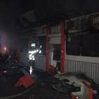 Загорання магазину будівельних товарів «Буд-Мікс»