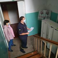 Перевірка виборчих дільниць у м. Яготині