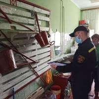 Огляд приміщення Супоївської НВК під розміщення виборчої дільниці