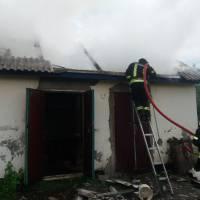 Загорання господарчої будівлі