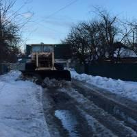 Розчистка міста від снігу – спільне завдання!