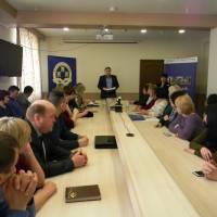 Учасники практикуму з галузевої законотворчості для фахівців органів місцевого самоврядування отримали сертифікати про успішне проходження навчання