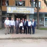 З офіційним візитом до общини Дві Могили, Республіка Болгарія
