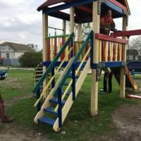 Розпочато ремонт дитячих й спортивних майданчиків