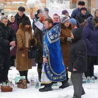 Відзначення Хрещення Господнього в Свято-Троїцькому Соборі