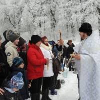 Відзначення Хрещення Господнього на набережній р. Супій, що в Сорочому Яру