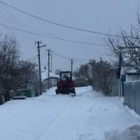 Розчистка міста від снігу