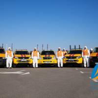 Працівники служби «104» АТ «Київоблгаз» працюють у захисному спецодязі