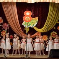 Святковий концерт до 8 Березня - Міжнародного жіночого дня!