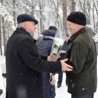 Урочистий мітинг з нагоди Дня вшанування учасників ліквідації наслідків аварії на Чорнобильській АЕС