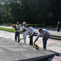 Вшанування пам'яті жертв війни в Україні та території міста
