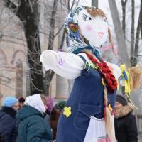 18.02.2018 - Як яготинці Масляну святкували та зиму проводжали