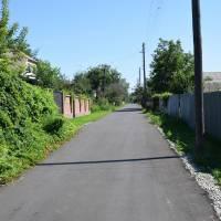 Завершено ремонт дороги вул. 24 Серпня