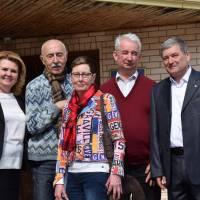 """Почесний громадянин м. Яготина, німецький лікар, керівник проекту «Aktion Tschernobyl"""" Йозеф Ціглер"""