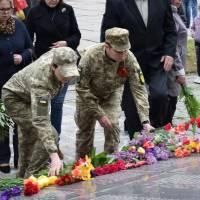 Мітинг-реквієм з нагоди Дня Перемоги над нацизмом у Другій світовій війні та Дня пам'яті і примирення в Україні