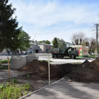 Розпочато роботи по будівництву зливової каналізації