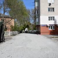 Капітальний ремонт (асфальтування) прибидинкової території