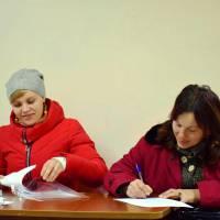 Прийом громадян виїзною громадською приймальнею Народного депутата України Сергія Буніна