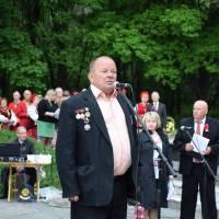 Мітинг-реквієм з нагоди Дня пам'яті і примирення та Дня Перемоги над нацизмом у Другій світовій війні