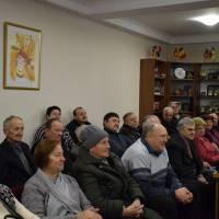Привітання голів первинних ветеранських організацій міста з Новорічно-різдвяними святами