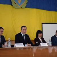 Олексій Чернишов представив новопризначеного голову Яготинської РДА