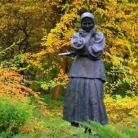 скульптура Катерині Білокур