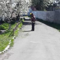 Виконання робіт на прибудинкових територіях багатоквартирних житлових будинків працівниками КП