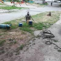 ремонт водяного колектору та водяного стояка  по Незалежності 22