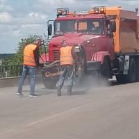 Ямковий ремонт доріг по місту