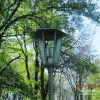 Ремонт ліхтарів-(розбитих) на Алеї Слави
