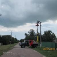 Заміна ліхтарів на однокристальні  світлодіодні по вул. Ватутіна (1)