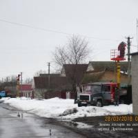 Заміна ліхтарів на світлодіодні по вул. Драгоманова