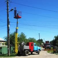 Заміна натрієвих ліхтарів на однокристальні по вул. Чкалова