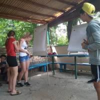 Зустріч представників Великоновосілківського рацонного центру зайнятості з дітьми у ДОЦ