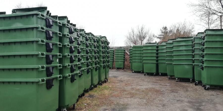 Великоновосілківський район отримав контейнери для збору твердих побутових відходів