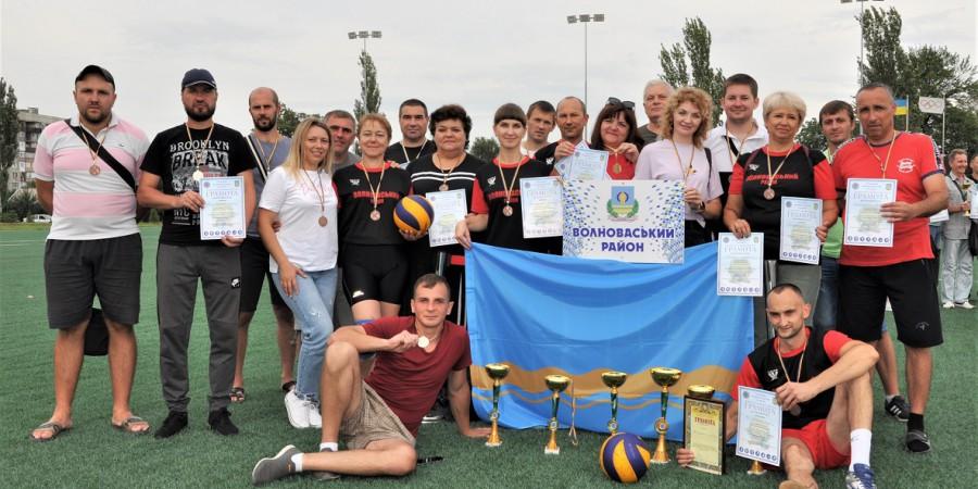 Команда Волноваського району виборола почесне ІІ місце в обласному етапі Спартакіаді
