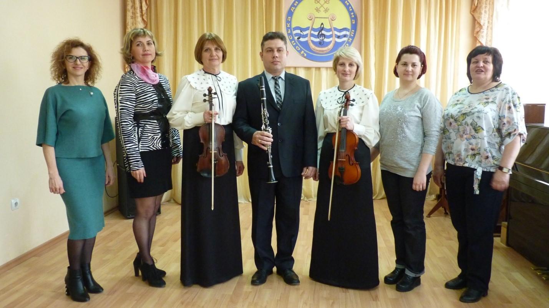 Оркестровий відділ Чопської ДМШ