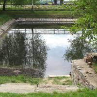 Водойма на території бази Романівської дільниці