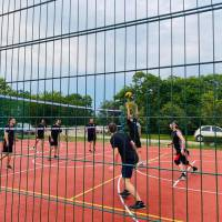 Відкриття двох багатофункціональних спортивних майданчиків (баскетбол, волейбол) із сучасним покриттям і огорожею.