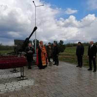 У День пам'яті та примирення, 8 травня 2020 року, на Меморіалі 412-ї батареї в смт Чорноморське Лиманського району Одеської області відбувся обряд пер