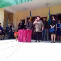 виступ класного керівника Юрківської Т.П.
