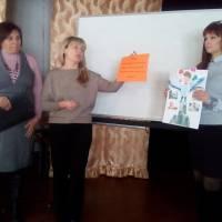 виступ  вчителів української мови та літератури