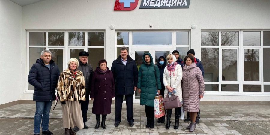 Відкрили амбулаторію в с. Водотиї.