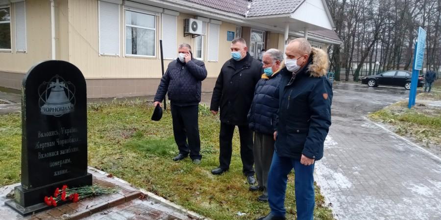 У Брусилові відбулись урочистості з нагоди Дня вшанування ліквідаторів аварії на ЧАЕС