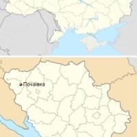 Почаївка на карті України