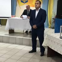 Представлення кандидата на посаду заступника голови громади Володимира Осядача