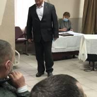 Представлення кандидата на посаду керуючого справами (секретаря) виконавчого комітету Підгороднянської сільської ради Богдана Ящика