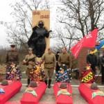 Перепоховання загиблих солдат на території Новопетрівської сільради